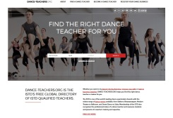 dance-teachers.org website